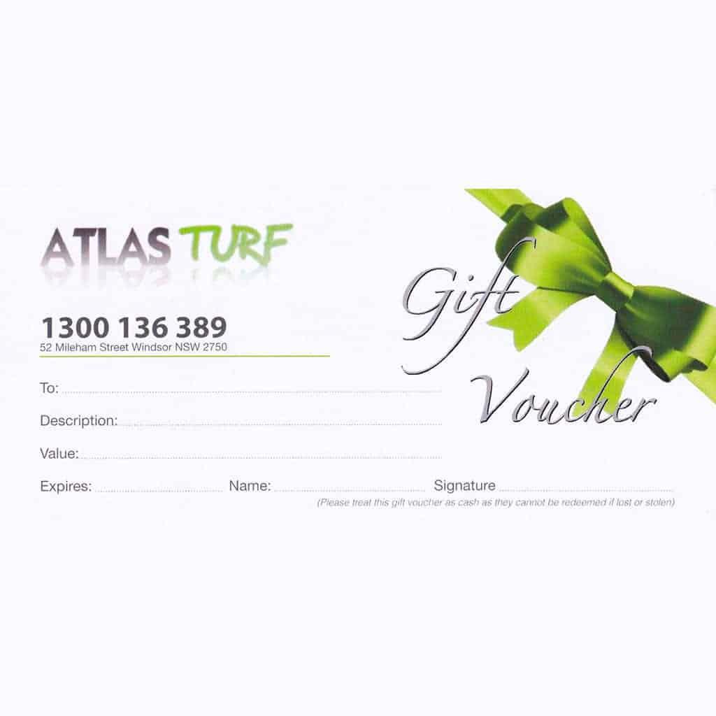 Gift Voucher Atlas Turf